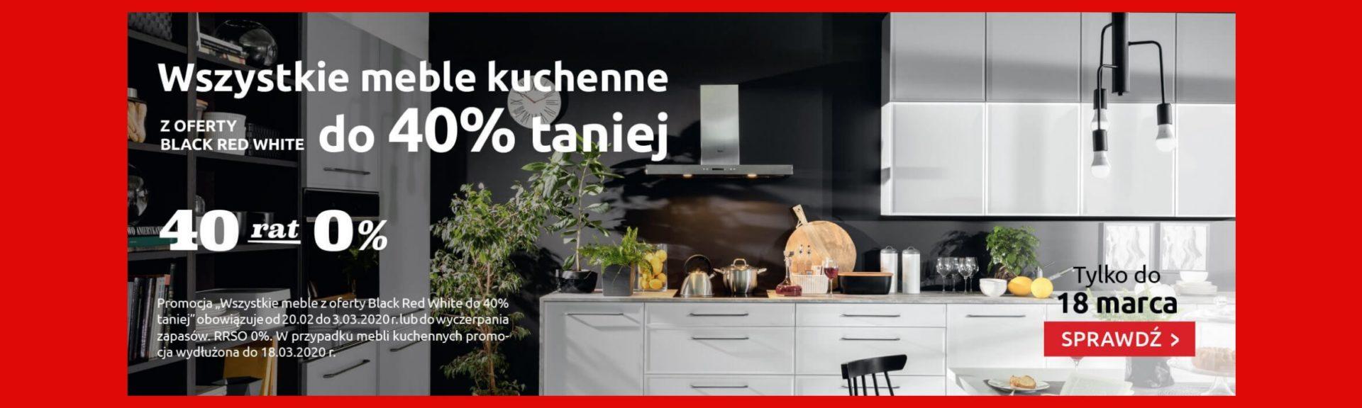 kuchnie taniej do 40%